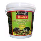 Ração Nutral Para Tartarugas Jabuti Cágados 1,300kg Criador