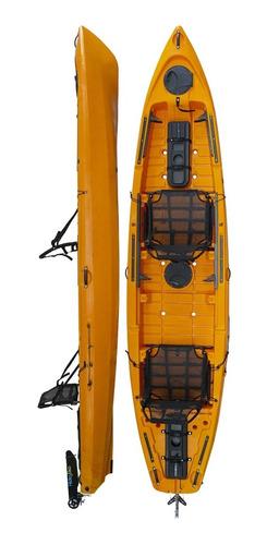 Kayak Hidro2eko Caiman 135 Duo Naranja - Kayaks Feelfree