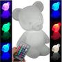 Luminária Abajur Urso Ursinho Bear Led 7 Cores C. Remoto Original