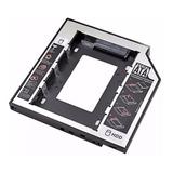 Caddy Adaptador 12.7mm Sata Disco Duro Ssd Notebook Dvd