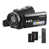 Andoer Hdv-201lm 1080p Fhd Cámara De Vídeo Digital Videoc¿