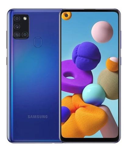 Teléfono Samsung A21s 64gb / 4gb Ram. Negro, Blanco Y Azul.