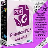 Foxit Phantom Pdf Business - Poderoso Editor De Pdf