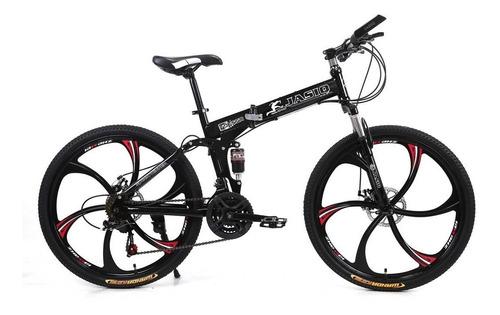 Bicicleta Montañera Plegable Aro 26  21 Vel.