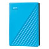 Disco Duro Externo Western Digital My Passport Wdbpkj0040 4tb Azul
