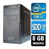 Pc Computador Cpu Intel Core I5 + Ssd 120gb, 8gb Memória Ram