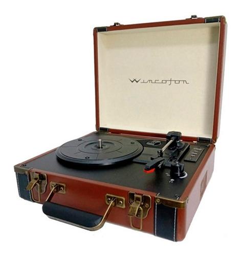 Tocadiscos Winco W407 Vinilo Bluetooth Vintage 100% Original