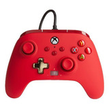 Control Joystick Powera Enhanced Wired Controller For Xbox Series X|s Red