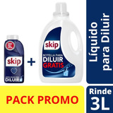 Jabón Líquido Skip Para Diluir 500 Ml + Botella Gratis