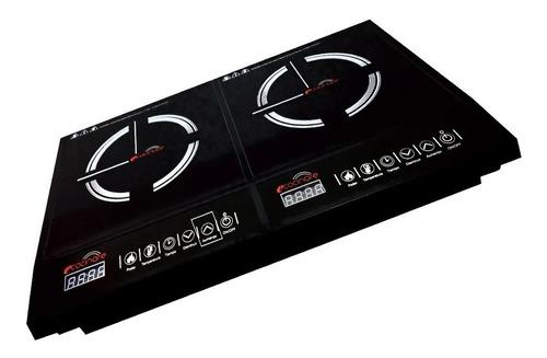 Parrilla Estufa Doble De Inducción Magnética E-cocinare