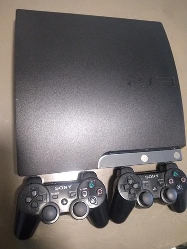 Playstation 3 Slim 160gb Poco Uso Con Joystick Y Juegos