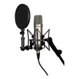 Micrófono Rode Nt1-a Condensador Cardioide Silver