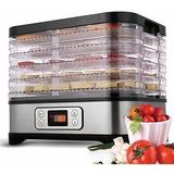 Tooluck 5 Bandejas 250w Máquina Deshidratadora De Alimentos