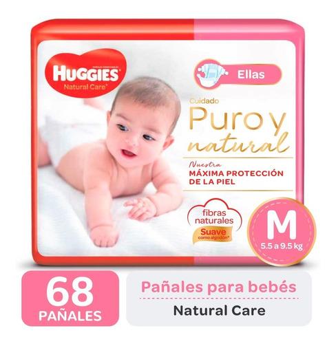 Pañales Huggies Natural Care Ellos Y Ellas Promopack M G Xg Xxg