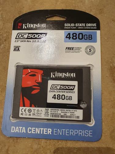Ssd Kingston 500gb Dc500r