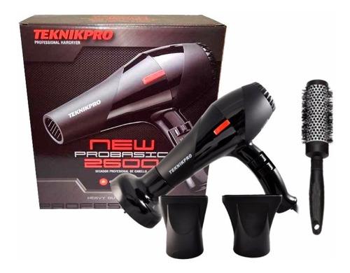 Secador Pelo Profesional  Pro Basic 2600 + Cepillo Brushing