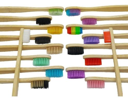 Cepillos De Dientes Biodegradables De Bambú 001
