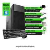 Computador Cpu Pc Core I3, 4 Gb Ram E Ssd 120 Gb + Kit