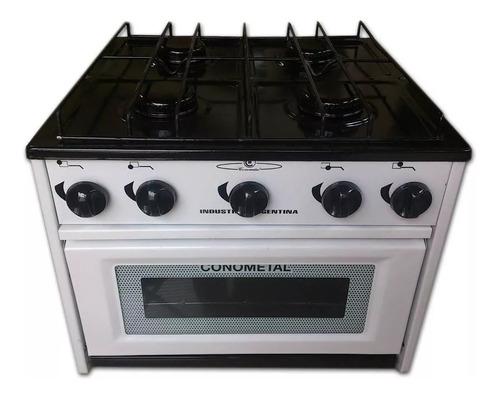 Anafe Cocina 4 Cuatro Hornalla Horno Gas Envasado O Natural