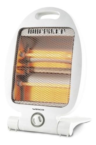 Estufa Electrica Halogena Caloventor Calefactor Winco W181