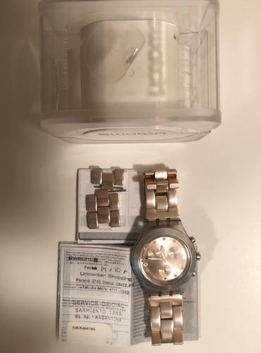 Reloj Swatch Rosa Impecable Estado
