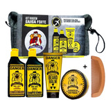 Kit Viagem Danger - Barba E Cabelo Barba Forte Kit Completo