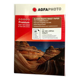 Papel Fotografico Glossy 210 Grs A4 20 Hojas. Agfa