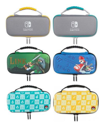 Kit De Protección Estuche Nintendo Switch Lite Macrotec