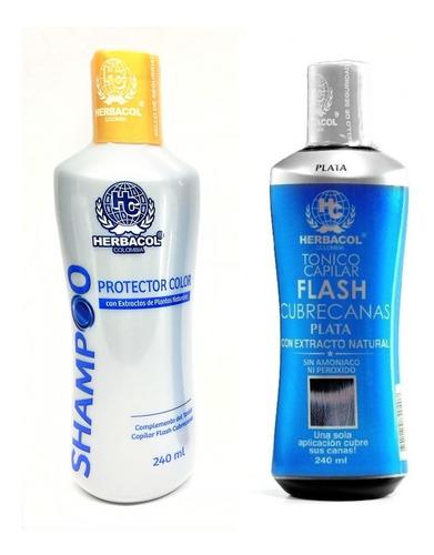 Cubre Canas + Shampoo Protector Color H - mL a $156