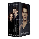 Crepusculo Twilight Saga Completa Pack 5 Films Dvd Coleccion