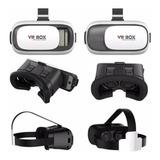 Lente Vr Box 2.0 Realidad Virtual 3d Gafas Videos Juegos
