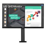 Monitor Gamer LG 27qn880 Led 27  Negro 100v/240v