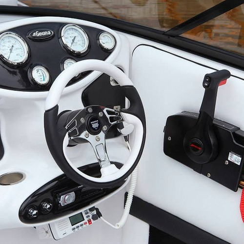 Volante Interlagos Ideal  Nautica Alta Gama Cromado-tapizado