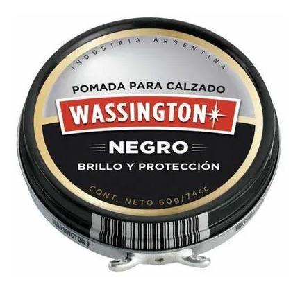 Wassington Pomada Negra Para Calzado X 30g