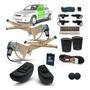 Kit Vidro Eletr Corsa Classic 4p Diant Alter +trava E Alarme Original