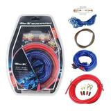 Kit Cables Para Amplificador Subwoofer 1500w Auto / 213004