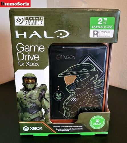 Disco Duro Externo Seagate 2 Tb Para Xbox Edición Halo
