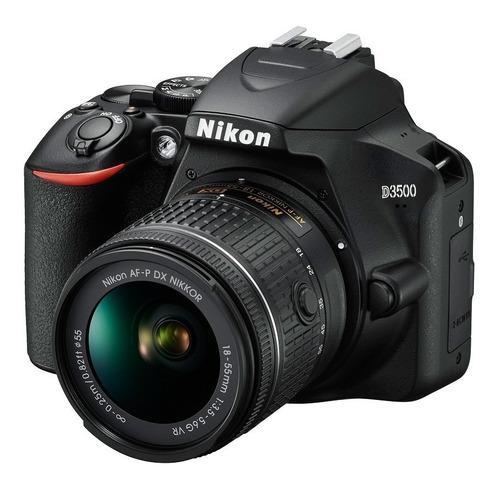 Nikon D3500 Idioma  Ingles Promo Con 2 Baterias + Bolso