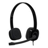 Audífonos Logitech H151 Negro