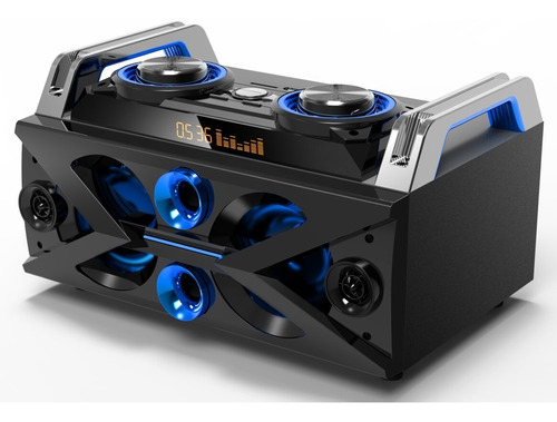 Equipo Música Daewoo Audio Usb Bluetooth Radio Led Mix 300w