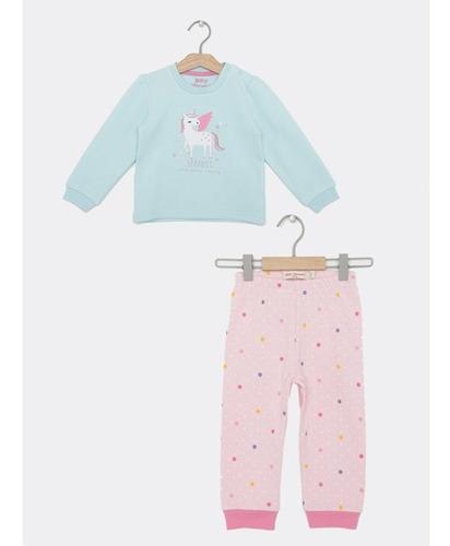 Pijama Baby Harvest Unicornio Niña