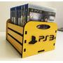 Porta Jogos, Case P/ Games Ps4, Ps3, Xbox - Diversos Modelos Original