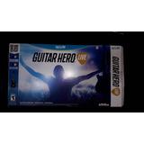 Guitarra Inalambrica De Guitar Hero Wii Con Juego Incluido