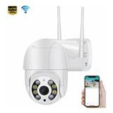 Cámara De Seguridad Wifi 1080p Hd Autoseguimiento Con Alarma