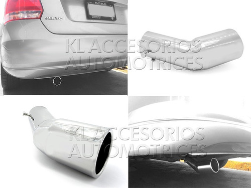 Colilla Salida Escape 56 Mm, Hyundai Elantra, Vento, Kia Rio