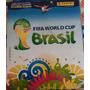 Album De Figurinhas Copa Brasil 2014 Capa Mole Original