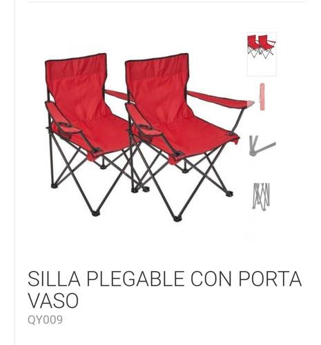 Silla Plegable,set De 2 Unidades + 1 Silla De Niño De Regalo