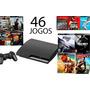 Playstation 3 Ps3  Slim Ou Super Slim + Controle + Jogos Original