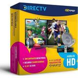 Kit Directv Hd Antena Prepago Sin Abono Autoinstalable 46cm