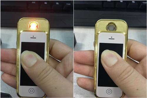 Encendedor iPhone Recargable Lleva Su Propio Cable Usb
